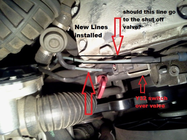 Vacuum Lines From S C To Where Ever It Goes Mercedes Slk World