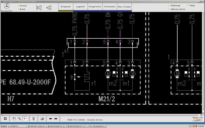 what is this electrical diagram symbol?   mercedes slk world  mercedes slk world