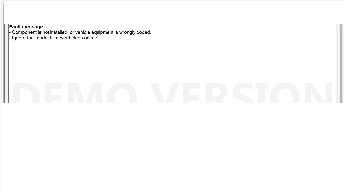 SAM-F Error Code- AC Compressor Signal Line | Mercedes SLK World