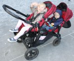 24 Cityselect double stroller with grandchildren aboard..jpg