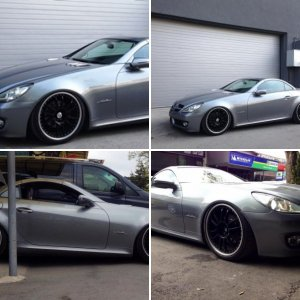 OffLineR's SLK with AirMadZ Air Suspension