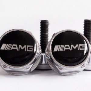 AMG plate bolts