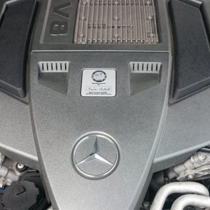 That magnificent AMG engine
